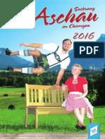 Gastgeberverzeichnis Aschau im Chiemgau