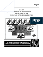 ad0415a INTRODUCTION TO THE PATRIOT AIR DEFENSE MISSLE SYSTEM