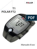 Polar FT1 Manuale