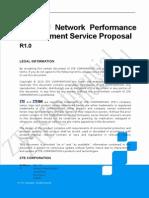 ZTE GU Network Performance Improvement Service Proposal_R1.0