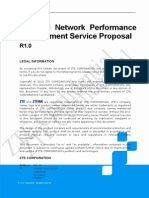 ZTE GU Network Performance Improvement Service Proposal_R1.0