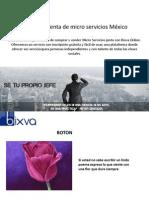 Compra y Venta de micro servicios México