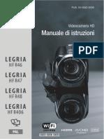 LEGRIA HF R46!47!48 406 Instruction Manual IT
