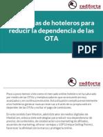 Estrategias de hoteleros para reducir la dependencia de las OTA