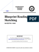 US Navy Course - Blueprint Reading and Sketching NAVEDTRA 14040