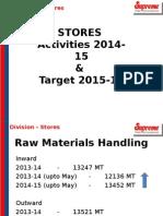 Stores Presentation 14-15