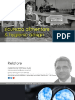 Food safety and Hygienic Design