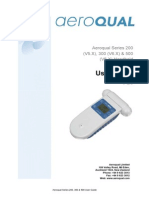 Aeroqual Series 200 300 500 User Guide V2.0