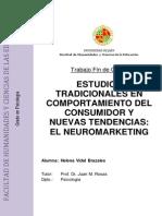 ESTUDIOS TRADICIONALES EN COMPORTAMIENTO DEL CONSUMIDOR Y NUEVAS TENDENCIAS