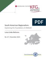 South American Regionalism