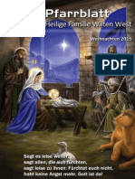 Pfarrblatt Weihnachten 2015