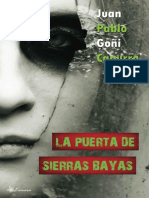 La Puerta de Sierras Bayas - Juan Pablo Goni Capurro