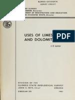 Uses of Limestone d 321 Lama