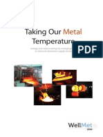 Taking our Metal temperature