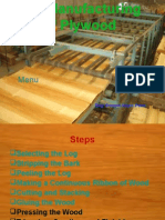 The Manufacturing of Plywood