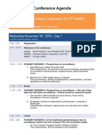 WARFS Antigua 2015 Conference - UPDATED -FINAL November 17th 2015