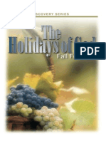 The Holidays of God the Fall Feasts