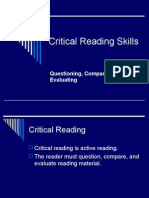 critical reading for unizar
