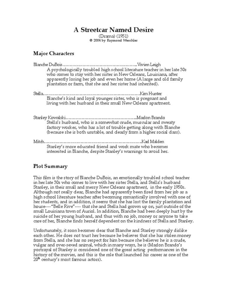 a streetcar d desire a streetcar d desire pdf
