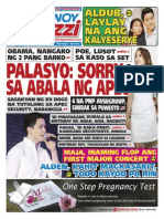Pinoy Parazzi Vol 8 Issue 138 November 18 - 19, 2015