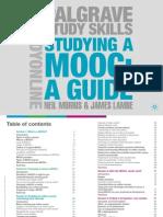 Studying a MOOC Neil Morris James Lambe