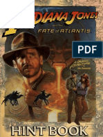Indiana Jones and the Fate of Atlantis - Hintbook