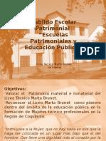 Patrimonio Liceo Técnico Marta Brunet