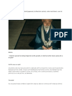 Sfaturi Transmise de Seniorii Japonezi