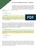 Fundamentos de Convênios com utilização do Siconv - Exercícios - Módulo 1
