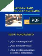 Estrategias para desarrollar capacidades.ppt