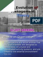 1 Evolution of Management