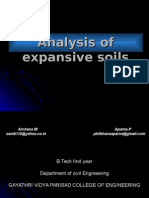 Analysis of Expansive Soils