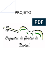 PROJETO Orquestra de Naviraí 2013