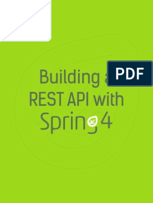 Building+a+REST+API+with+Spring | Representational State
