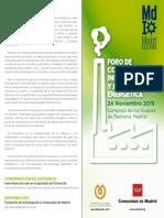 """""""FORO DE COMPETITIVIDAD INDUSTRIAL Y COMPETITIVIDAD ENERGÉTICA"""""""