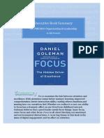 book summary focus