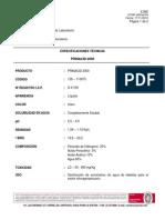 Ficha Técnica Prinacid 2000