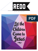 Let the Children Come to Jesus-Credo Magazine