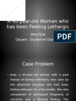 Clinical Chemistry Case Study - Proteins