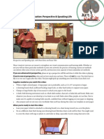 Drwg & Comm Perspective Handout