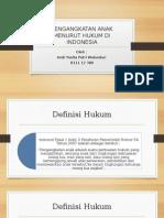 PENGANGKATAN ANAK MENURUT HUKUM DI INDONESIA.pptx