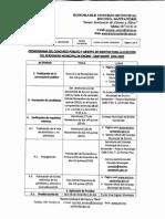 Cronograma concurso público y abierto de meritos para la elección del Personero Municipal de Encino 2016 - 2019