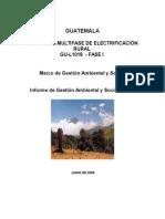 Informe de Gestion Ambiental y Social