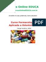 Farmacologia Aplicada a Odontologia