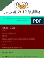 charlottes web dramaturgy