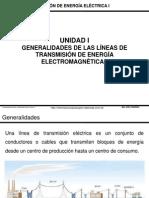 GENERALIDADES DE LAS LINEAS DE TRANSMISION