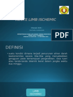 Acute Limb Ischemic