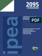TD 2095 - O Desafio Da Reintegração Social Do Preso.. Uma Pesquisa Em Estabelecimentos Prisionais