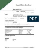 MSDS - Robond L-330 - ISS130910