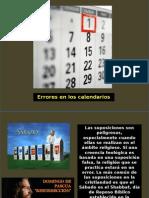 CAPITULO 2 Errores en Los Calendarios